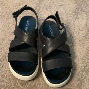 Aerosole comfy sport sandals 7.5/8